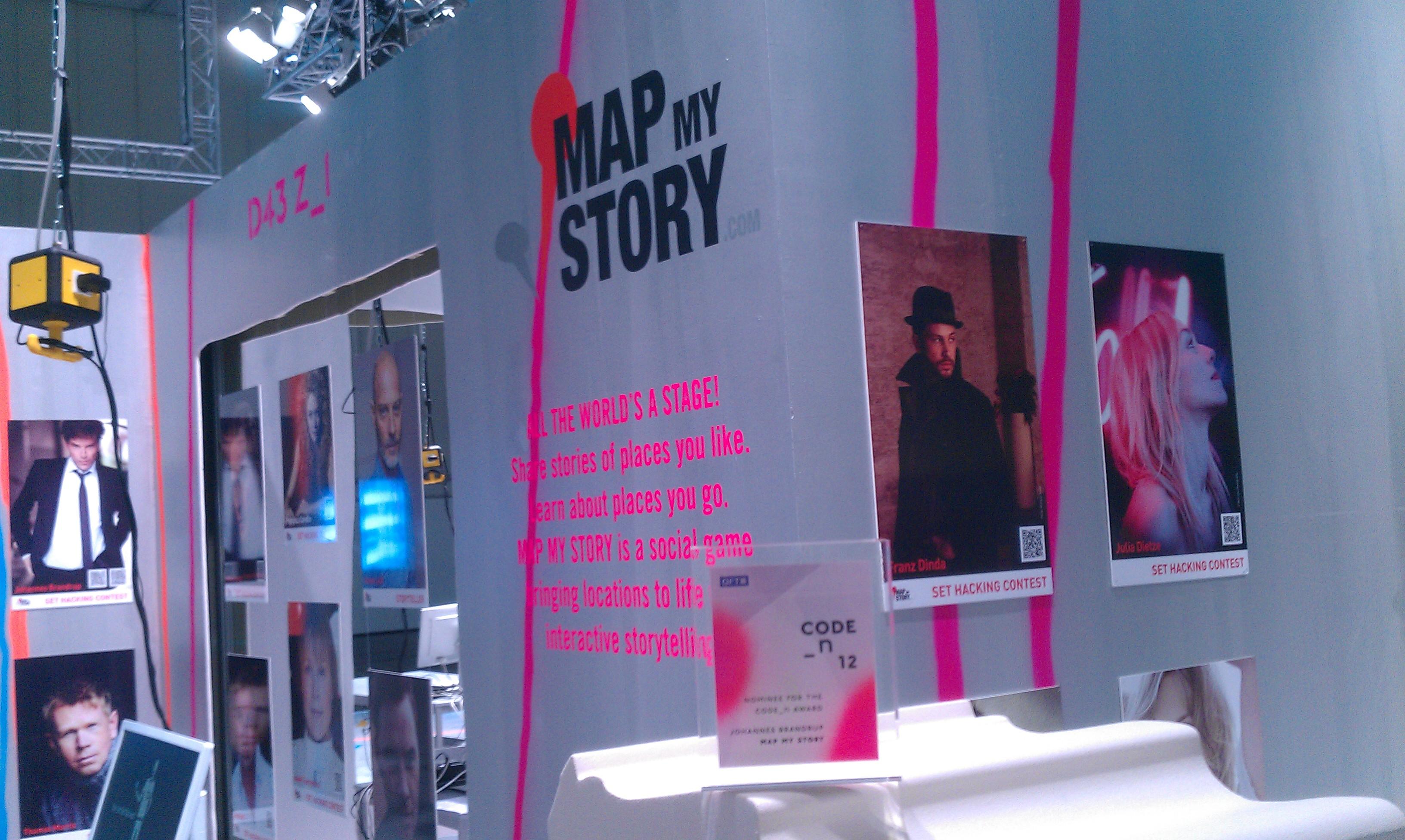 Map My Story bei der Code_n