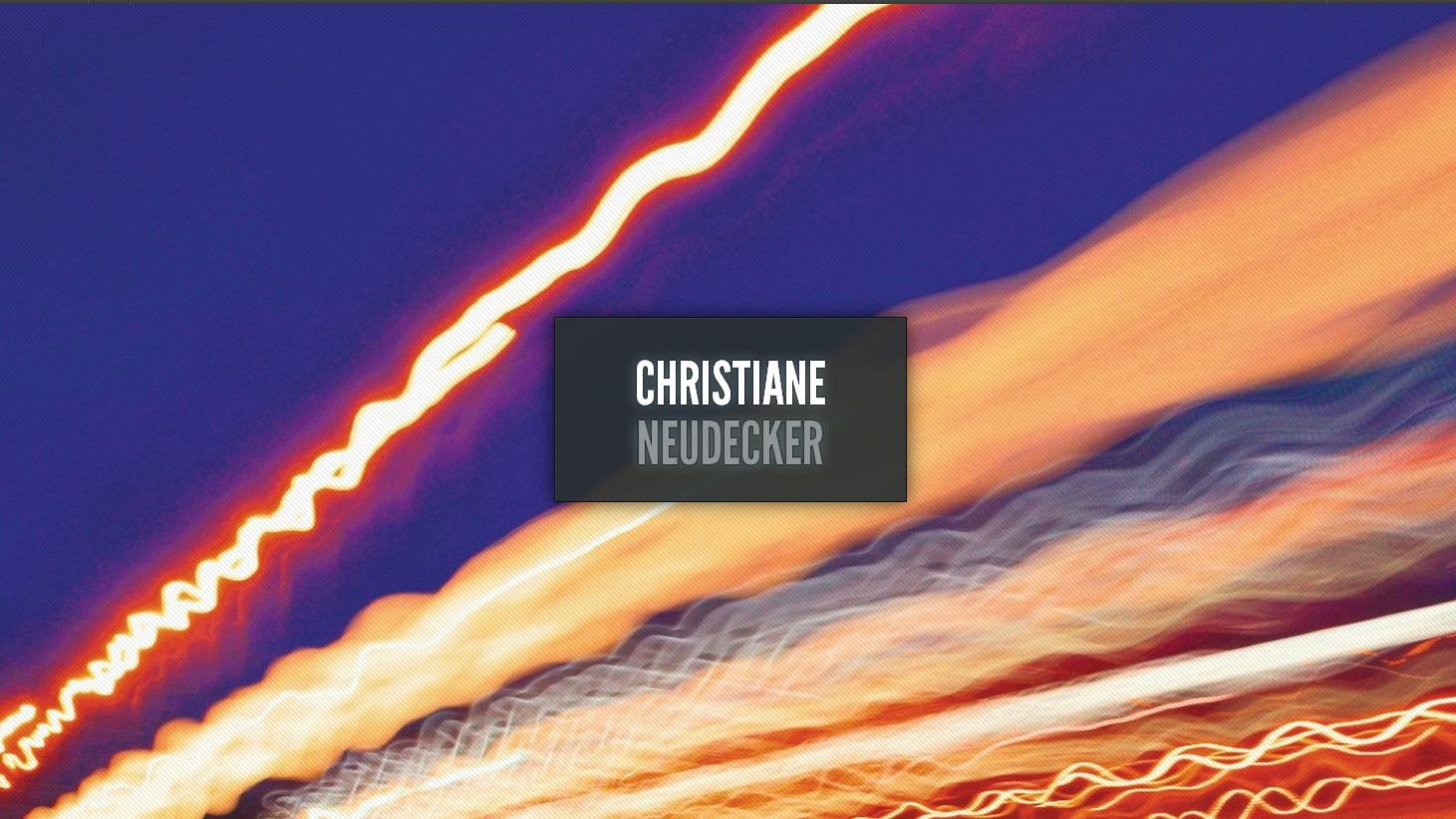 Autorinnen-Webseite: Christiane Neudecker