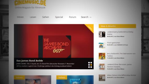 CINEMUSIC.DE – Das Online-Magazin für Filmmusik